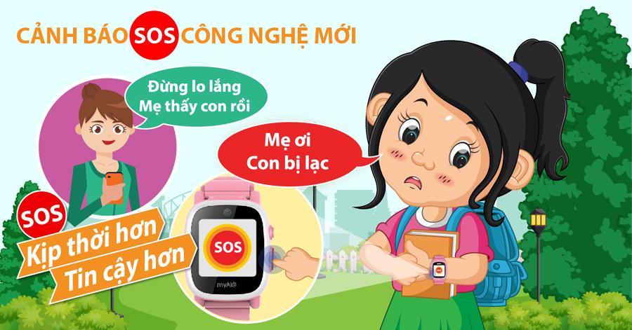 SOS là gì? Các công nghệ liên lạc khẩn cấp SOS trên đồng hồ thông minh trẻ em