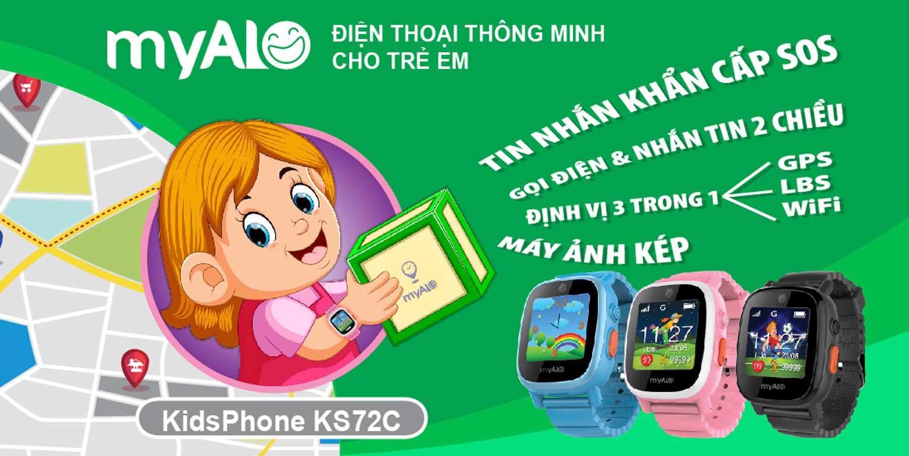 VnExpress.net - Đồng hồ thông minh myAlo dành cho trẻ em