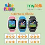 Đồng hồ thông minh định vị trẻ em myAlo KS72C màu hồng