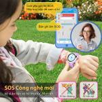 Đồng hồ thông minh định vị trẻ em myAlo K84 màu tím